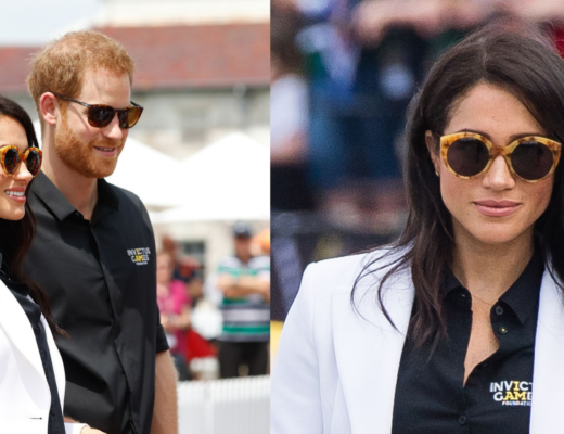 Meghan Markle in Illesteva Palm Beach Sunglasses