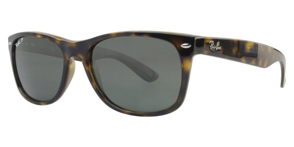 RAY BAN NEW WAYFARER POLARIZED OUTSIDERS RB 2132 902/58 - 52MM