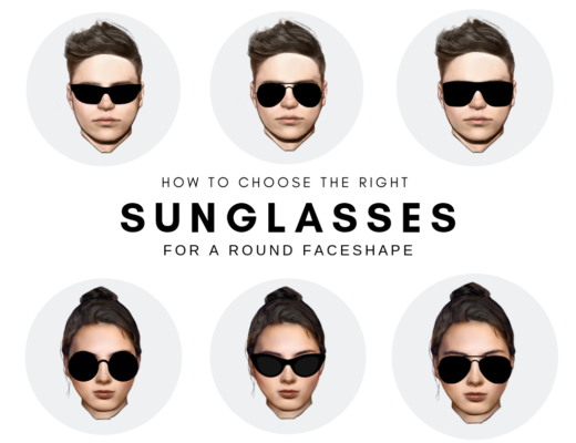 What Type of Sunglasses Suit a Round Face