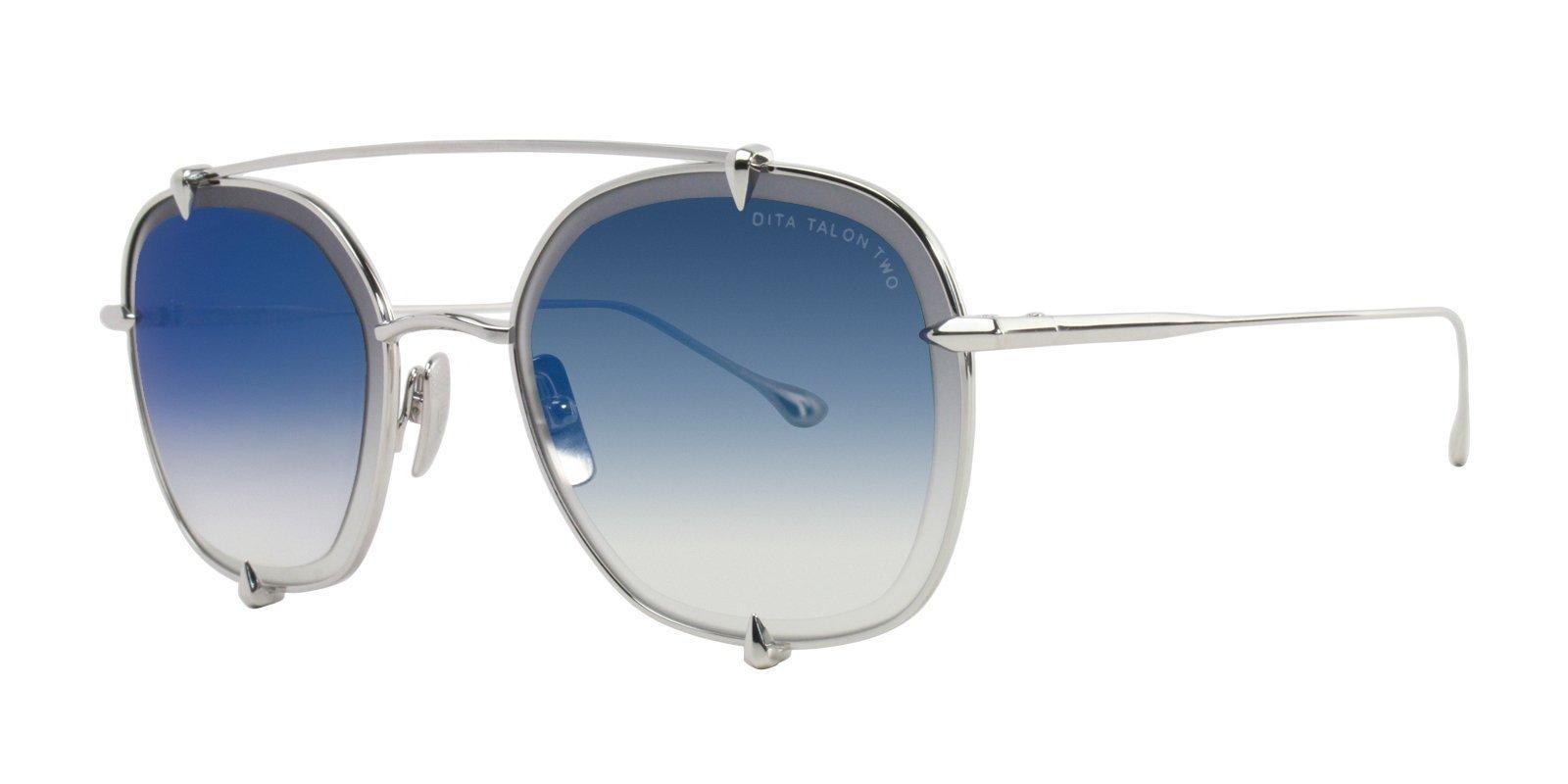 70390c8b3c2 dita-sunglasses-dita-talon-two-silver-blue-designer-eyes ...