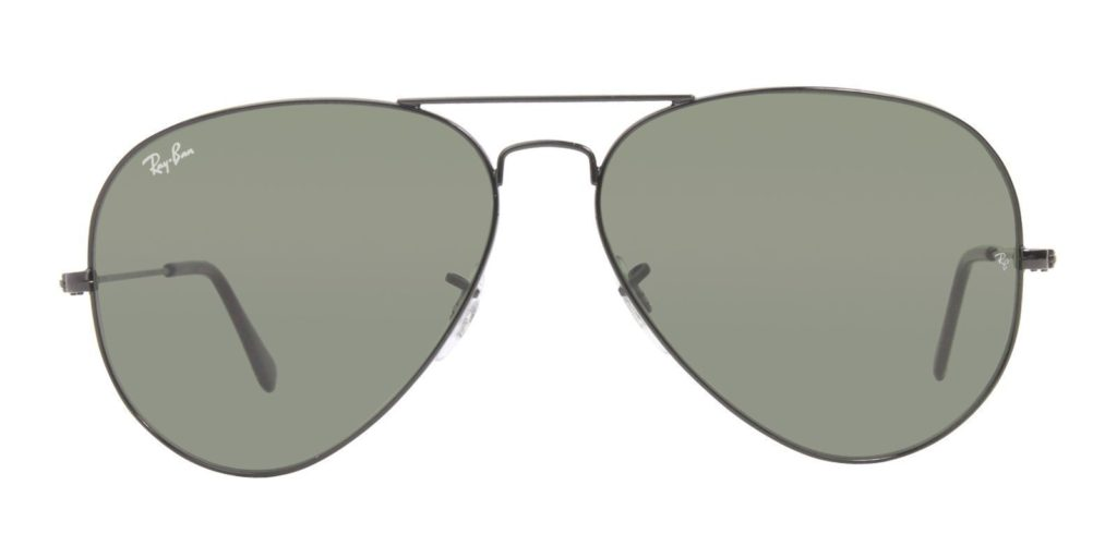 RAY BAN AVIATOR LARGE METAL II SUNGLASSES RB 3026 L2821
