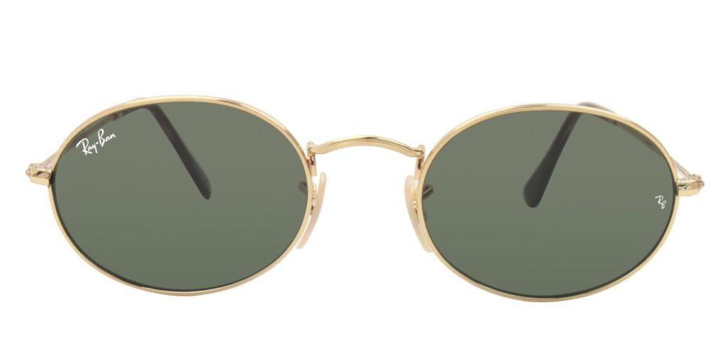 oval sunglasses for a diamond face shape