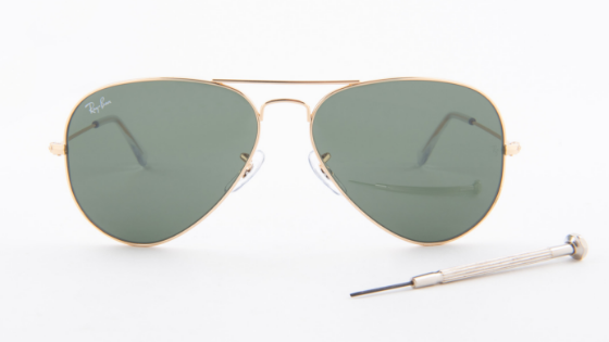 how to replace aviator lenses