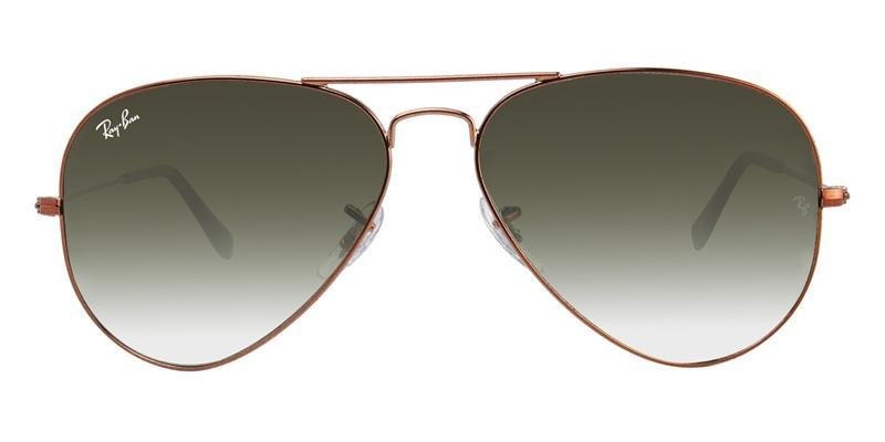 16d5f1c8d7771 The crystal lens is tinted on the back backside allowing for smooth color  transitions. Below is an example of a classic pair of Ray-Ban aviators with  a ...