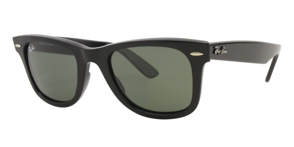 14214182c6 Wayfarer frames are made from acetate and are a bit heavier than the Oakley  Frogskins. They also have metal hinges