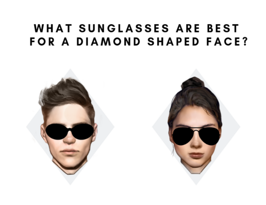 Best sunglasses for diamond face shape