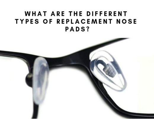replacing your nose pads on sunglasses or eyeglasses