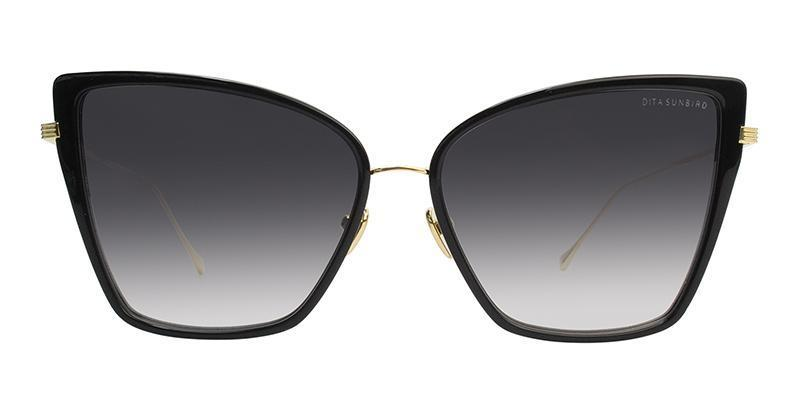 c05b727e53c The Dita Sunbird Sunglasses feature lightweight acetate lens rims are  surrounded by titanium and its titanium frame has coin detail on the lens  rim.