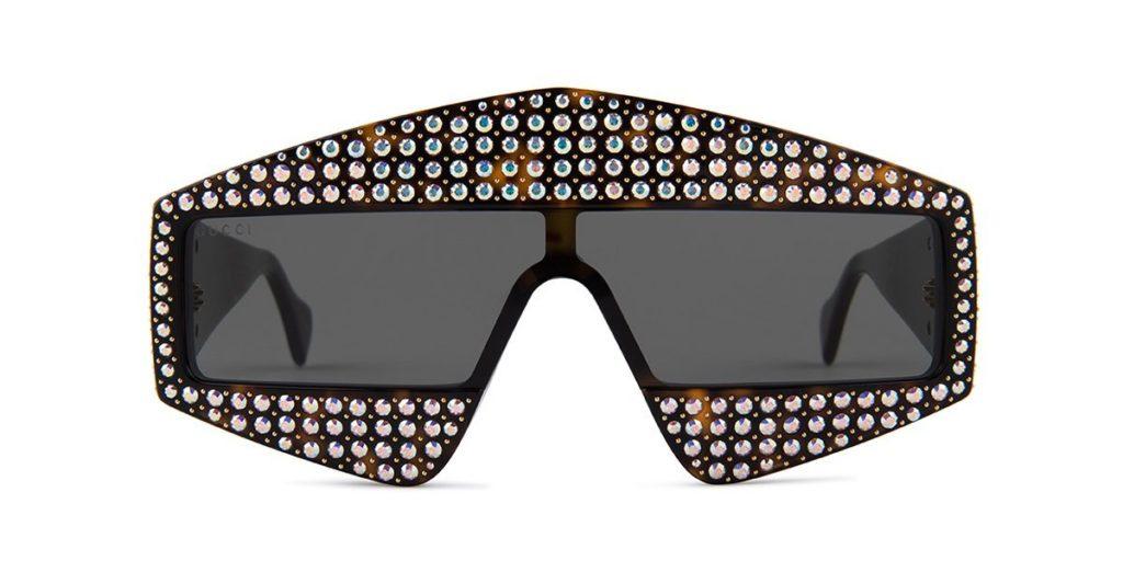 J. Balvin oversized Gucci sunglasses style