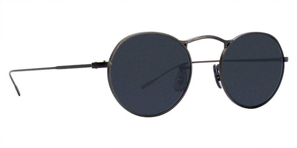 J. Balvin round sunglasses style