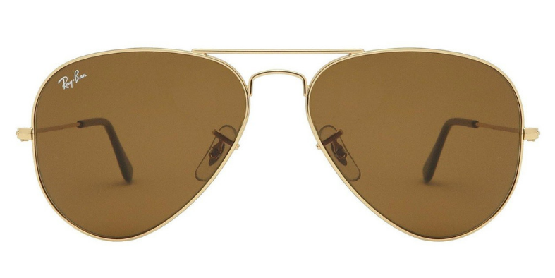 ray ban aviator lens sizes