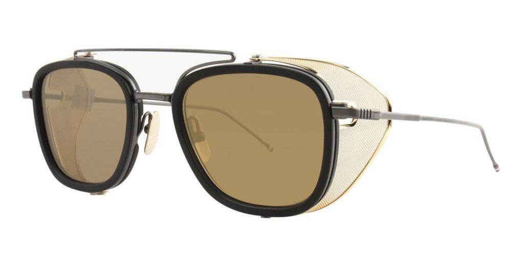 J. Balvin Thom Browne sunglasses style