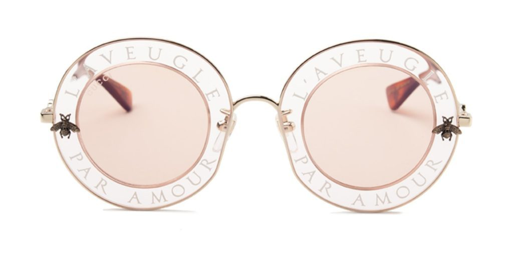 48a608bcc J Balvin Chanel Sunglasses, Gucci Blind For Love