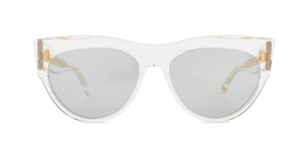 DITA Braindancer Clear/Gray Sunglasses