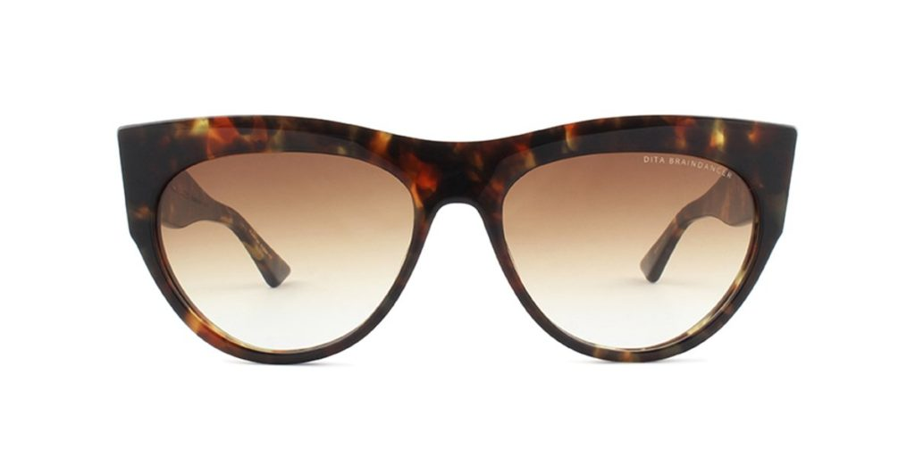 DITA Braindancer Tortoise/Brown Sunglasses