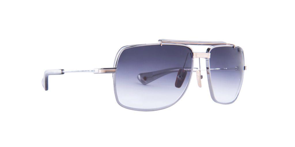 DITA Symeta Type-403 Black Iron/Yellow Gray Sunglasses